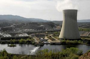 Central nuclear de Ascó (Tarragona).